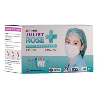 [ Chinh hang] Khẩu trang Y Tế Juliet Rose (màu trắng) 50c thumbnail