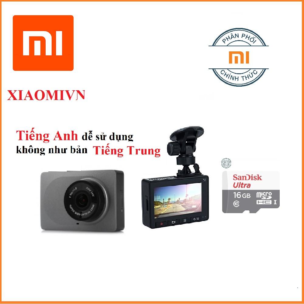 Camera hành trình xe hơi ôtô Xiaomi Yi Smart Car DVR 165 độ 2k Bản tiếng Anh tặng thẻ nhớ 16gb class - 2654465 , 790529250 , 322_790529250 , 1270000 , Camera-hanh-trinh-xe-hoi-oto-Xiaomi-Yi-Smart-Car-DVR-165-do-2k-Ban-tieng-Anh-tang-the-nho-16gb-class-322_790529250 , shopee.vn , Camera hành trình xe hơi ôtô Xiaomi Yi Smart Car DVR 165 độ 2k Bản tiếng