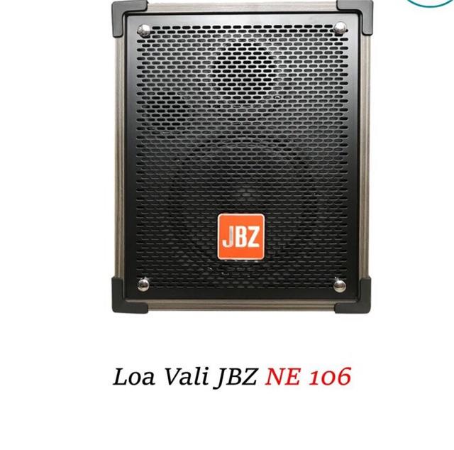 Loa kéo di động JBZ NE-106, loa karaoke 2 tấc, công suất max 120W