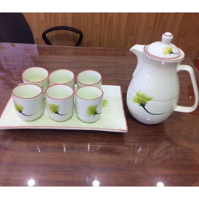 Bộ bình trà sứ 1,5 lít - 2615289 , 421975210 , 322_421975210 , 750000 , Bo-binh-tra-su-15-lit-322_421975210 , shopee.vn , Bộ bình trà sứ 1,5 lít