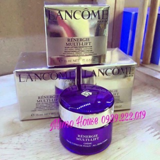 Kem dưỡng Lancome Renergie Lift Multi-Action