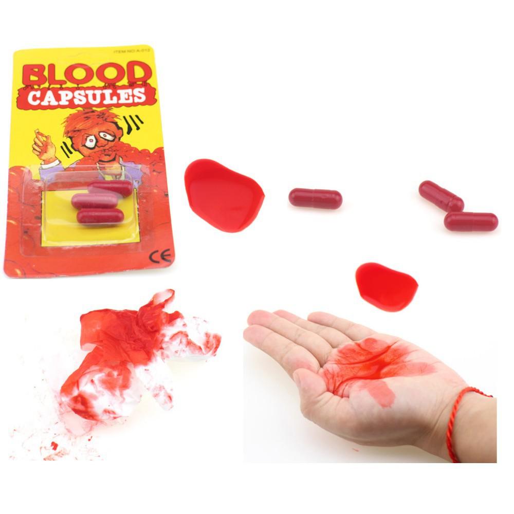 bình máu giả lọ to 500ml dùng troll bạn bè shop dochoigiare188