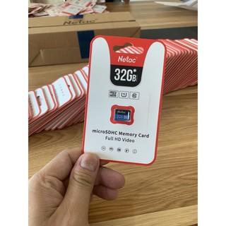 Thẻ nhớ Netac 32GB - Chính hãng Totem Việt Nam