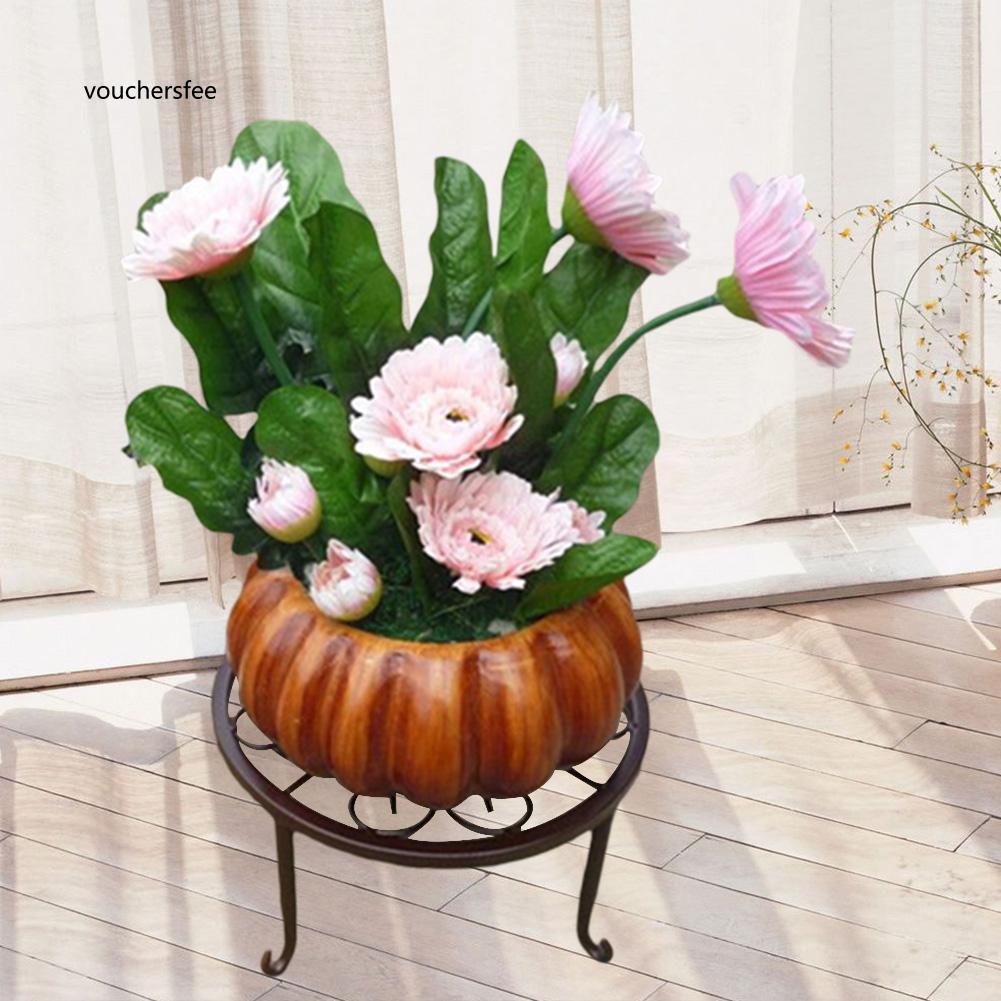 Giá đỡ chậu hoa bằng sắt sáng tạo