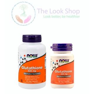USA- Viên uống sáng da Glutathione NOW 60 viên thumbnail