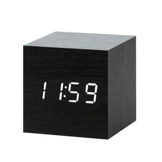 (Freeship) Đồng hồ để bàn LED giả gỗ
