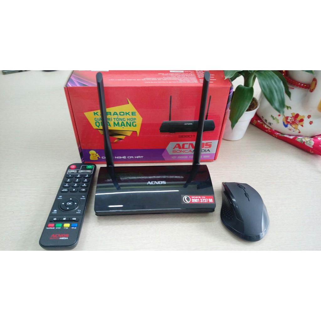 [Giá sốc] Đầu Karaoke Full HD tích hợp Android TV Box – Acnos Sonca Media - Tặng chuột không dây - F - 3076018 , 953092879 , 322_953092879 , 950000 , Gia-soc-Dau-Karaoke-Full-HD-tich-hop-Android-TV-Box-Acnos-Sonca-Media-Tang-chuot-khong-day-F-322_953092879 , shopee.vn , [Giá sốc] Đầu Karaoke Full HD tích hợp Android TV Box – Acnos Sonca Media - Tặng c