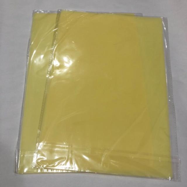 Da tập xăm silicon màu vàng a4(20/30cm) độ dày 1mm
