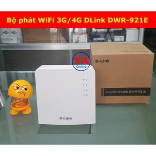 Bộ phát WiFi 3G/4G DLink 921E – LTE tốc độ 150Mbps – Hỗ Trợ 32 User – 1 Cổng WAN/LAN và 1 Cổng LAN
