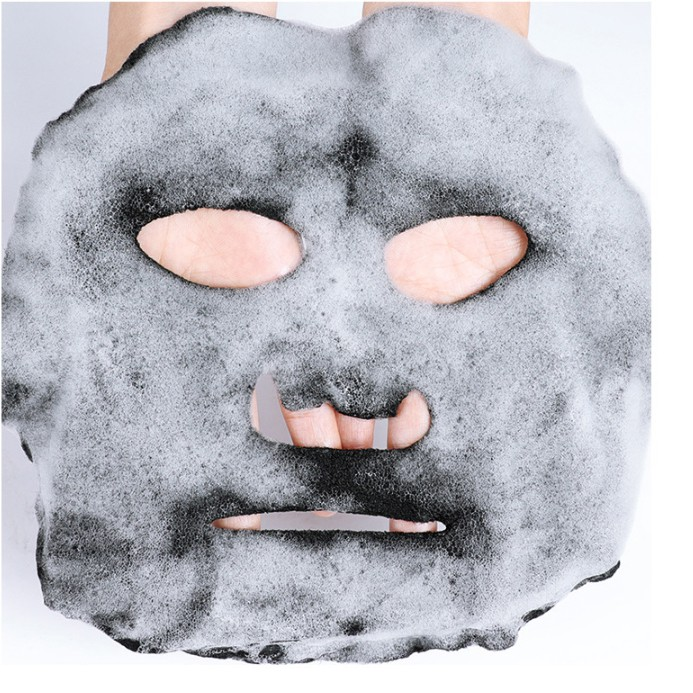 Mặt nạ sủi bọt than hoạt tính Black Gold Bamboo Mask 28ml
