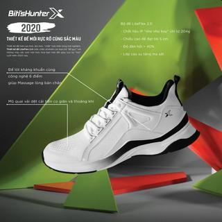 Hình ảnh [Mã WABRBS1 giảm 10% đơn 500K] Giày Bitis Hunter X Festive Frosty White DSWH03500TRG/DSMH03500TRG-7