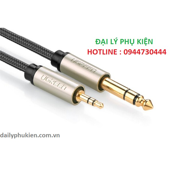 Dây cáp audio 3.5MM sang 6.5MM hai đầu dương dài 8m Ugreen 10631 - 2886786 , 698720882 , 322_698720882 , 445000 , Day-cap-audio-3.5MM-sang-6.5MM-hai-dau-duong-dai-8m-Ugreen-10631-322_698720882 , shopee.vn , Dây cáp audio 3.5MM sang 6.5MM hai đầu dương dài 8m Ugreen 10631