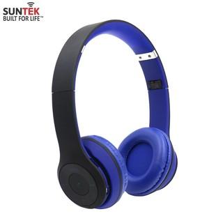 Tai nghe Bluetooth STN-019 xanh đen