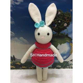 Thú Nhồi bông thỏ handmade