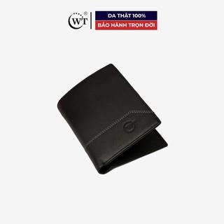 [Mã MABRL220 hoàn 15% đơn 99K tối đa 50K xu] Ví Da Nam Da Bò Cao Cấp Màu Đen WT Leather 0126.2 thumbnail