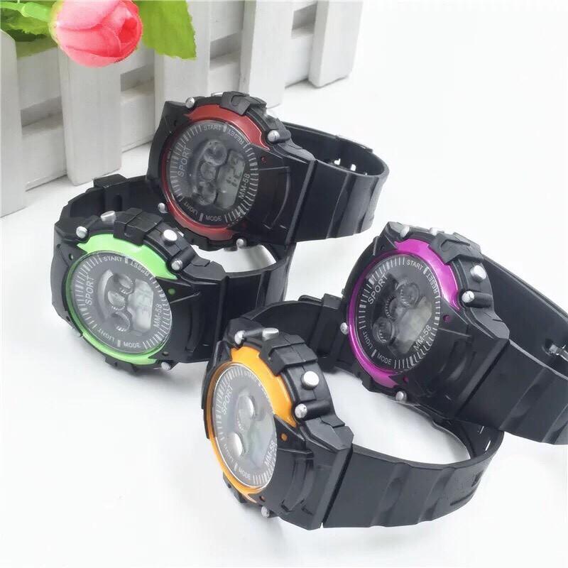 ( Giá Sỉ ) Đồng hồ điện tử thời trang nam nữ Sport cá tính ssr77
