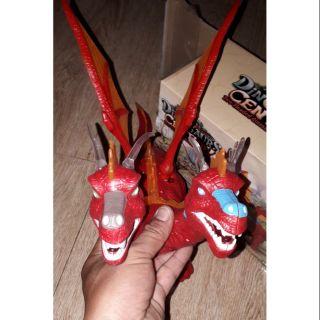 Khủng long chạy PIN 2 đầu có cánh và đẻ trứng có nhạc đèn Led tặng kèm PIN