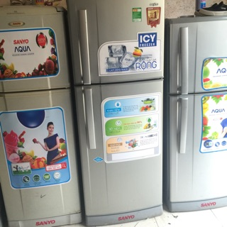 Tủ lạnh sanyo 205l đã qua sd