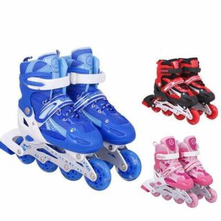 Giày trượt patin cho bé kèm bảo hộ