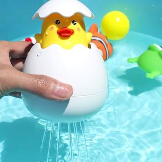 Đồ chơi trứng vịt / cánh cụt nở đồ chơi nhà tắm
