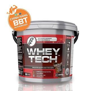 TĂNG CƠ Whey Tech – Xây dựng nuôi dưỡng cơ bắp hoàn hảo (3kg – 66 Serving)