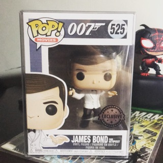 Mô hình Funko Pop James Bond exclusive box 10/10 có protect