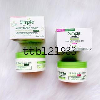 Kem Mặt Simple Night/Day Cream hũ