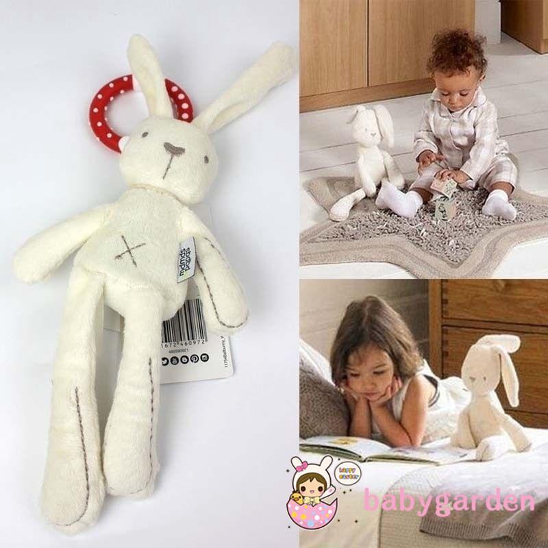 .NG-Baby Kids Girls Gift Rabbit Sleeping Comfort Stuffed Plush Dolls Toys Bed