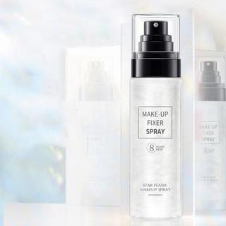 Xịt Nhũ Khóa Trang Điểm Star Flash Make Up Spray 8 Hours Wear