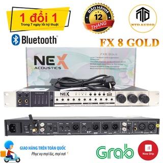 Vang cơ Nex FX8 Gold chính hãng Vang Cơ chống hú Hỗ trợ đầu vào Bluetooth, AUX, Cổng Quang Bảo hành 12 tháng thumbnail