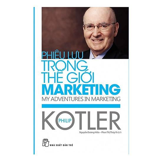 Sách - Phiêu Lưu Trong Thế Giới Marketing ( Bfai Học Hay Về Marketing Kinh Doanh)