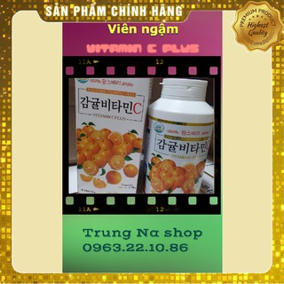 Viên Ngậm Vitamin C Jeju Tangerine Vita 1000 Hàn Quốc – Hộp 340 viên