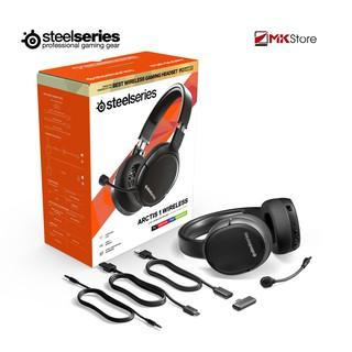 [Mã ELMSHX03 hoàn 6% xu đơn 2TR] Tai nghe Gaming Steelseries ARCTIS 1 WIRELESS 4-in-1 Wireless Gaming Headset thumbnail