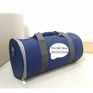 Túi trống thể thao chất lượng (dài 40cm, to đẹp, vải tốt, may chắc chắn, dáng khỏe mạnh)