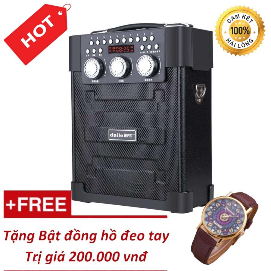 Loa kéo đa năng Bluetooth hát karaoke Daile S9 + Tặng Đồng Hồ Đeo Tay Cao Cấp - 3400590 , 1258460468 , 322_1258460468 , 950000 , Loa-keo-da-nang-Bluetooth-hat-karaoke-Daile-S9-Tang-Dong-Ho-Deo-Tay-Cao-Cap-322_1258460468 , shopee.vn , Loa kéo đa năng Bluetooth hát karaoke Daile S9 + Tặng Đồng Hồ Đeo Tay Cao Cấp