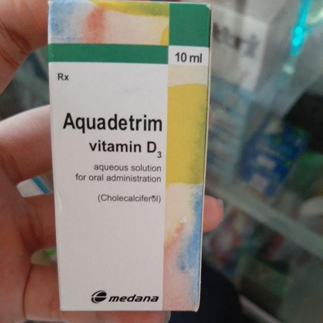 AQUADETRIM (vitamin D3) date 2020