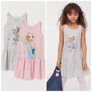 Váy cotton HM bé gái