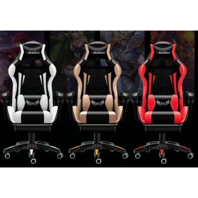 Ghế gaming RẺ VÔ ĐỊCH kèm gối massage ( Sẵn...