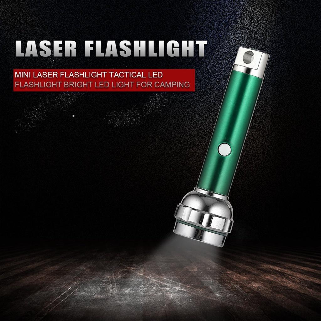 Đèn Pin Led Laser Mini Dùng Cho Cắm Trại