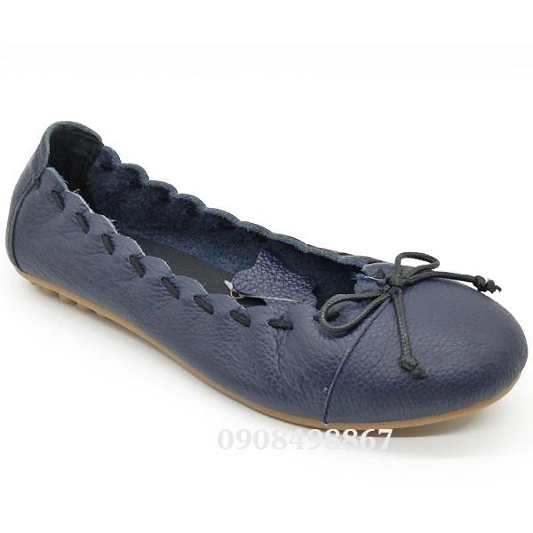 Giày búp bê nơ dây số 8