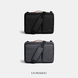 Cặp xách chống sốc Macbook Oxford 15 inches thương hiệu Leonardo