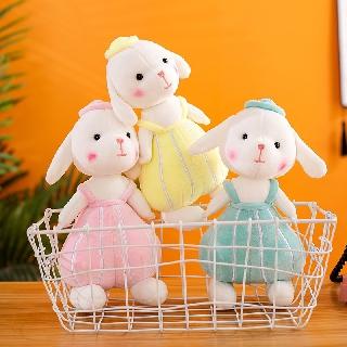 Cute little white rabbit plush toy sleeping hug ballet rabbit rag doll doll comfort doll birthday gift female