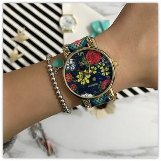 đồng hồ đeo tay mặt tròn thời trang hàn quốc