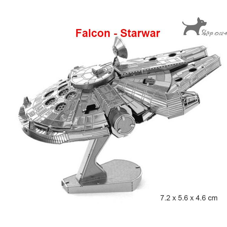 Đồ chơi lắp ghép mô hình tàu vũ trụ bằng thép