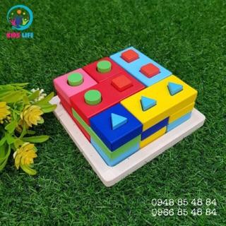 Bộ đồ chơi thông minh – Xiên cọc tư duy logic