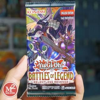 [Nhập mã TOYOCT giảm 10% tối đa 15K đơn từ 50K]Yugioh Túi thẻ bài Battles of Legend: Relentless Revenge – 5 lá bài