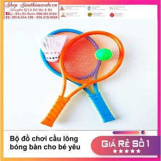 Bộ đồ chơi vợt cầu lông, bóng bàn 2 in 1 cho bé yêu thumbnail