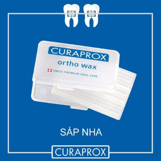 Sáp nha khoa Curaprox giảm đau cho răng niềng