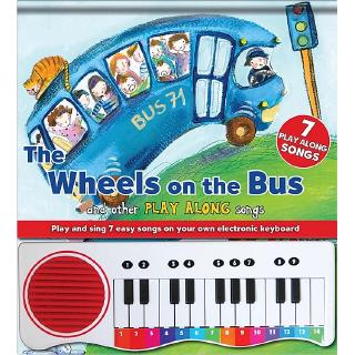 Đồ chơi PIANO BOOK – WHEELS ON THE BUS