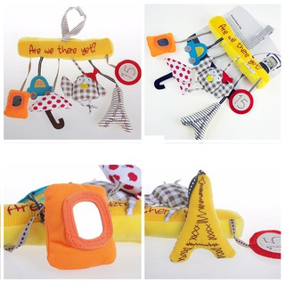 Music Bed Hanging Super Soft Cute Baby Infant Toy Circled Stroller Rattle Toy Di
